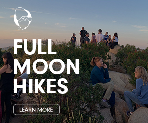 Full Moon Hiking San Diego